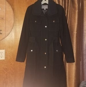 Apt. 9 wool trench coat